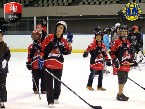 長靴hockey