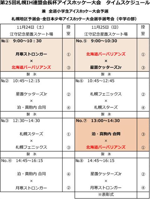 25th札幌IH連盟会長杯