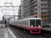 新京成8000形(新塗装) VVVF改造車 8517F