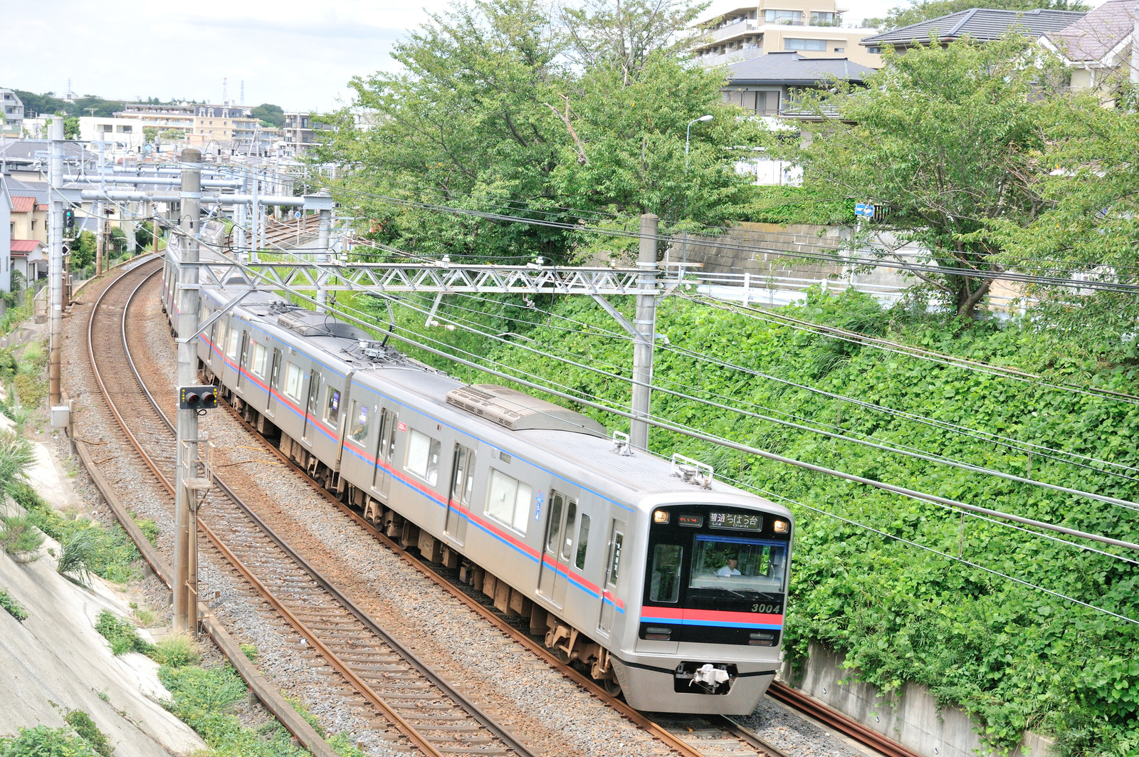 京成千葉線の有名撮影地にて : 風来狐の鉄道雑記