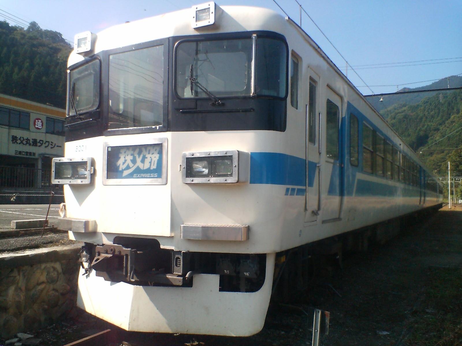 秩父鉄道3000系 165系の第2の人...