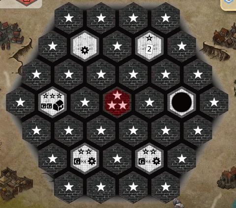 迷宮ボード初期配置