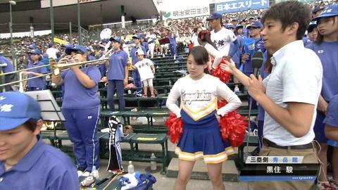 #まとめ総合】 - 【高校野球】秀岳館の応援団・チアガールに美女が揃ってると話題!ブラバンの人可愛いの声【夏の甲子園】