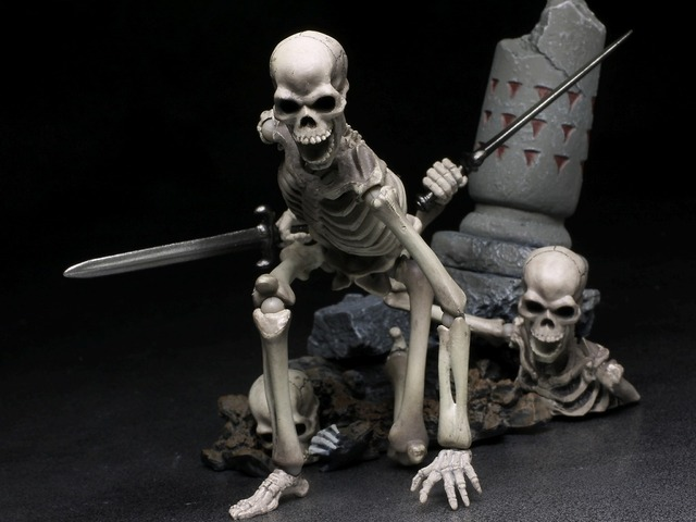 リボルテック 骸骨剣士 レビュー