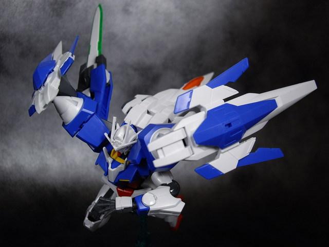 HG ダブルオーライザー+GNソードIII レビュー