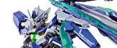 METAL BUILD 機動戦士ガンダム ダブルオーガンダム ダブルオークアンタ 約180mm ABS&PVC&ダイキャスト製 塗装済み可動フィギュア