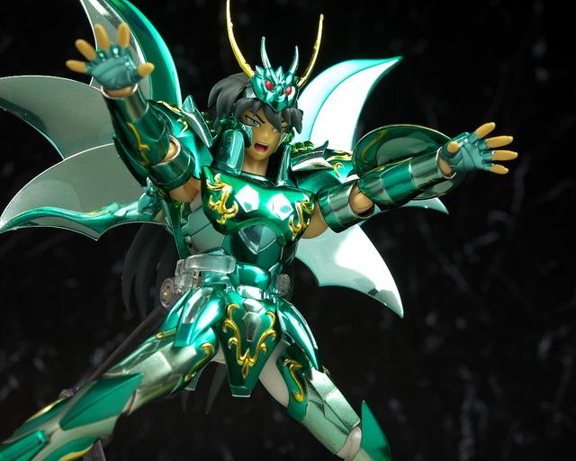 聖闘士聖衣神話 ドラゴン 神聖衣 10th Anniversary Edition レビュー