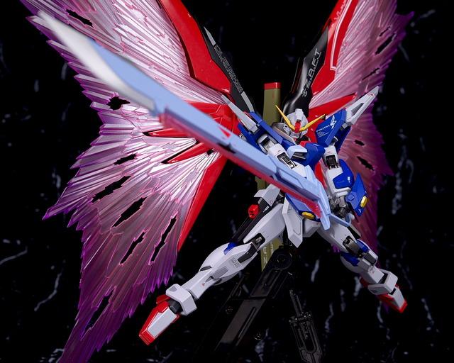 METAL ROBOT魂 デスティニーガンダム 光の翼 レビュー