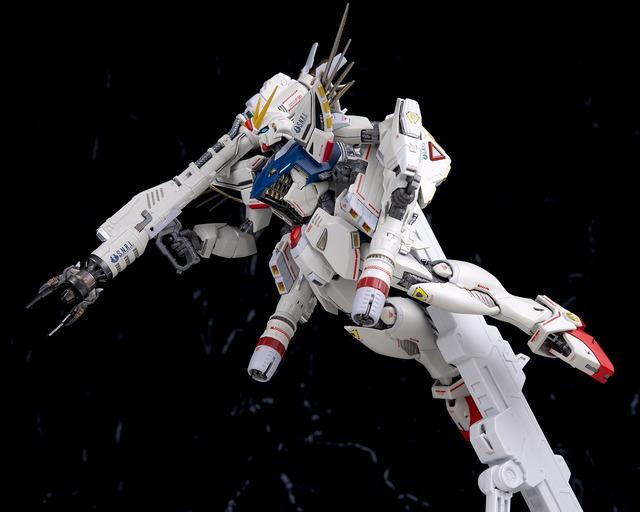 メタルビルド F91 クロニクルホワイト レビュー