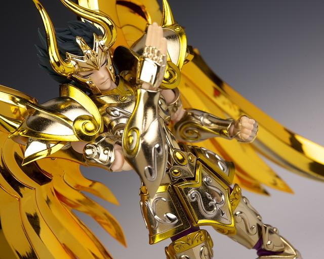 聖闘士聖衣神話EX シュラ 神聖衣 レビュー