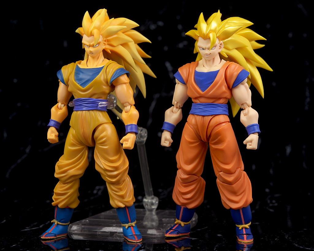 S.H.Figuarts SHF Dragon Ball Z Super Saiyan 3 Son Gokou Action Figures SS3