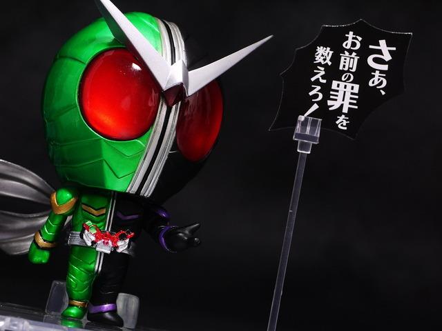 chibi-arts 仮面ライダーW サイクロンジョーカー レビュー