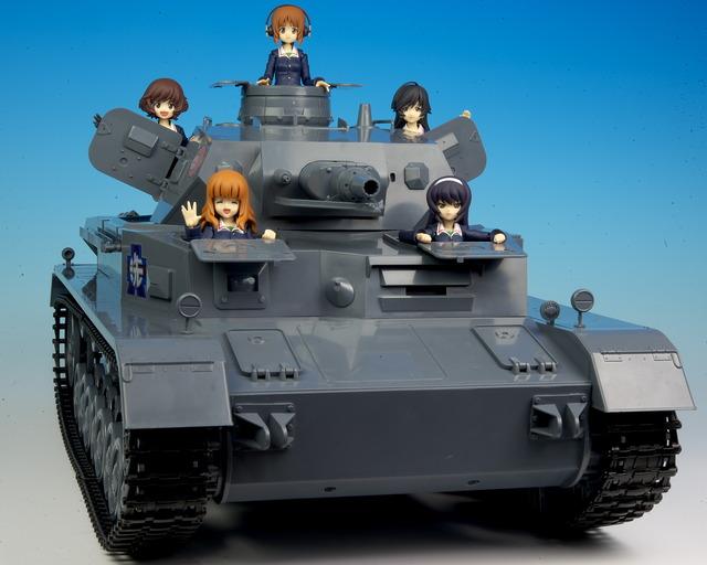 figma IV号戦車 レビュー