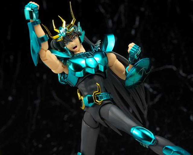 聖闘士聖衣神話EX 紫龍 レビュー