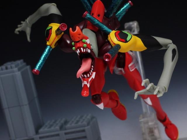 ROBOT魂 エヴァンゲリオン2号機 機獣化第2形態 (ザ・ビースト) レビュー