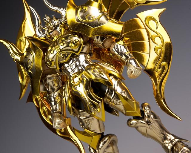 聖闘士聖衣神話EX アルデバラン(神聖衣) レビュー