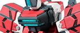 FW CONVERGEメカニクス 電脳戦機バーチャロン ライデン 1個入り 食玩・ガム (電脳戦機バーチャロン)