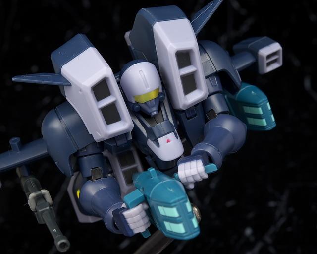 ROBOT魂 エアリーズ(OZ機) レビュー