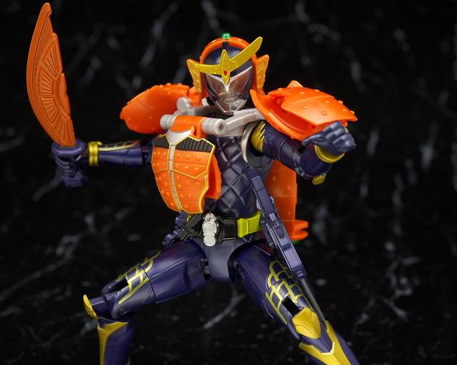 アームズチェンジシリーズ 仮面ライダー鎧武 オレンジアームズ レビュー