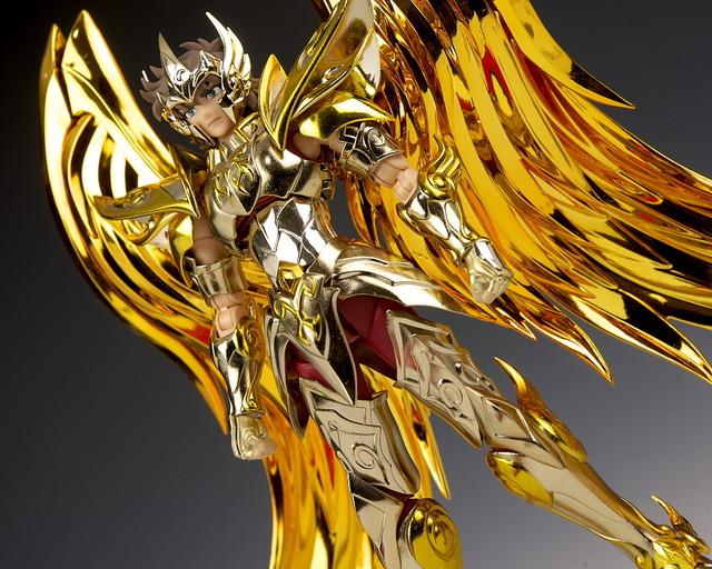 聖闘士聖衣神話EX アイオロス 神聖衣 レビュー