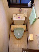 HRT邸トイレBEFORE