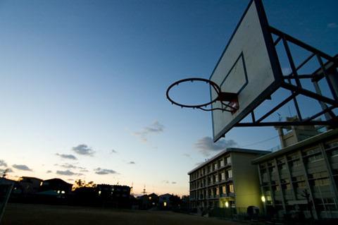 学校バスケ