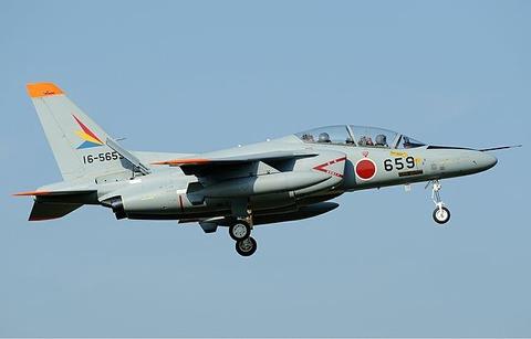 640px-Japan_Air_Self-Defence_Force_Kawasaki_T-4_Aoki-1