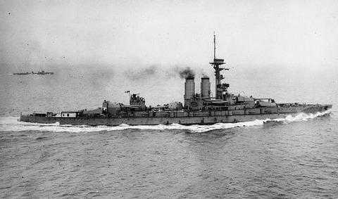 HMS_Erin_in_Moray_Firth_1915_IWM_SP_531