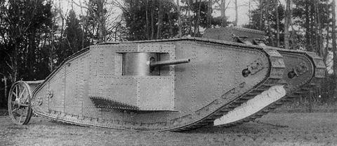 British_Mark_I_Tank