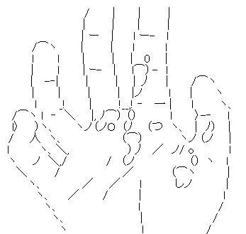 シンジの手