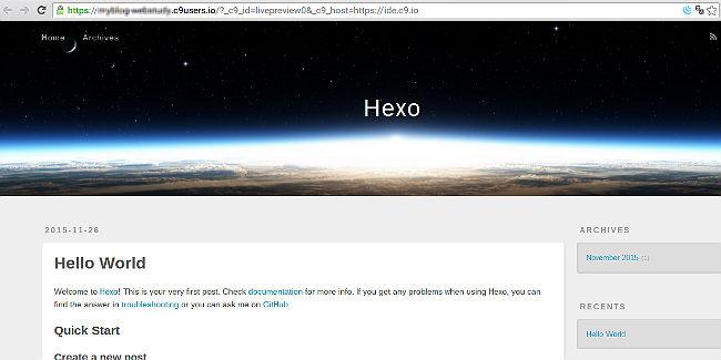cloud9-hexo13
