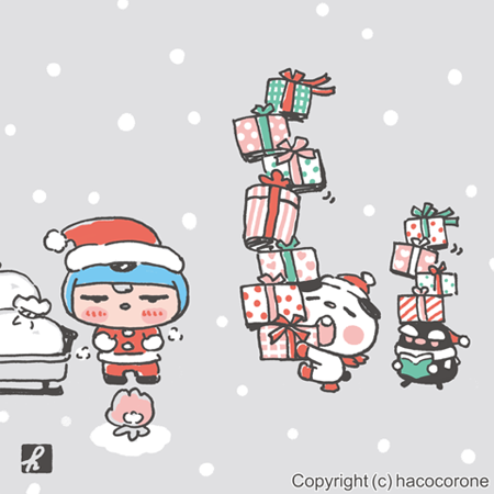 FBOK;2018クリスマススクエア450