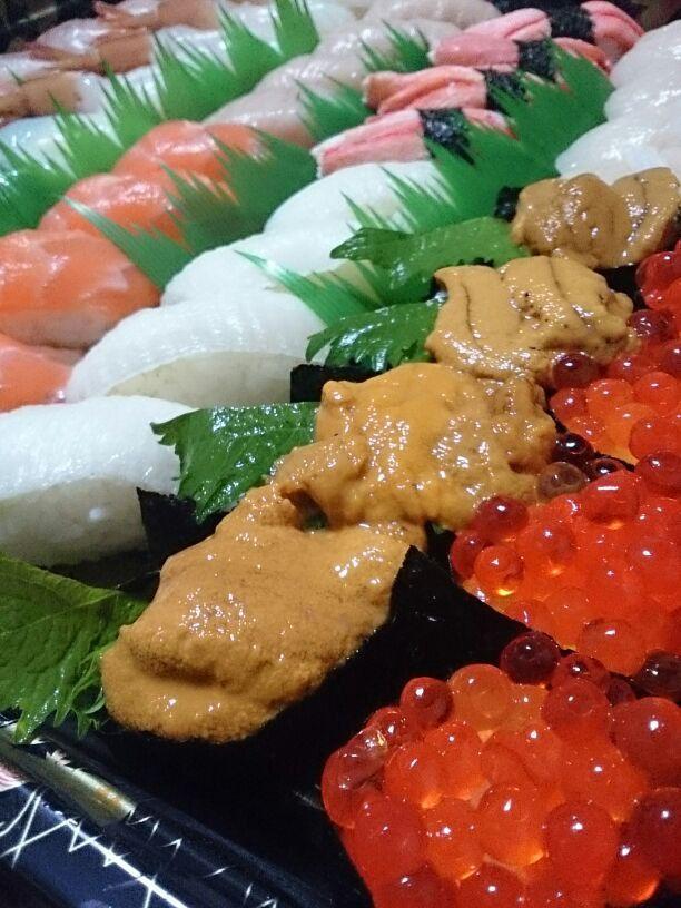 寿司とお酒と私