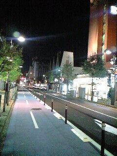 自転車道路梥