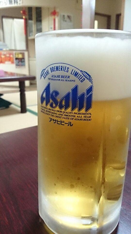 林商で生ビール