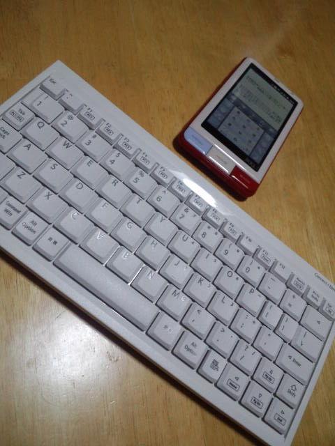ケータイ用のキーボード