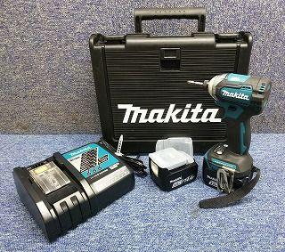 マキタ(Makita) 充電式インパクトドライバ TD160DRFX バッテリ 充電器 ケース付