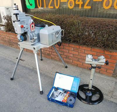 REX レッキス グルーブ溝加工機 ライトグルーブ150DX 50Hz