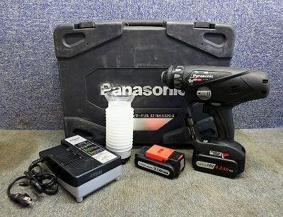 Panasonic パナソニック 充電マルチハンマードリル EZ78A1LS2G-B