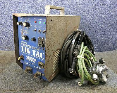 ダイヘン DAIHEN TIG アーク溶接機 TIGTAC 200EP