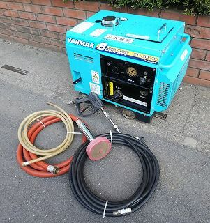 YANMAR(ヤンマー) BEAUTY MATE 高圧洗浄機 YSP2108SS ホース、ガン付
