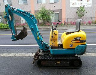 クボタ Kubota ミニユンボ K-008