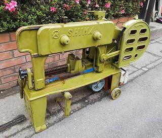 SHIMA(志摩鉄工) 弓鋸盤 切断機