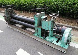 MAC(マツモト機械) ベンディングロール 三本ロール 鉄板曲げ DSS-4 8×1300