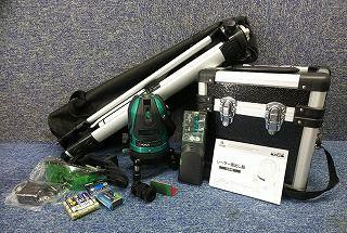 VOICE(ボイス) レーザー墨出し器 GREEN LASER VLG-5X 三脚付
