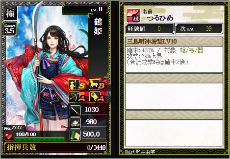 戦国ixa鶴姫