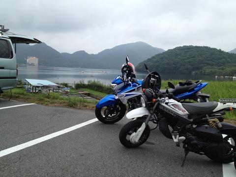 榛名and Bike