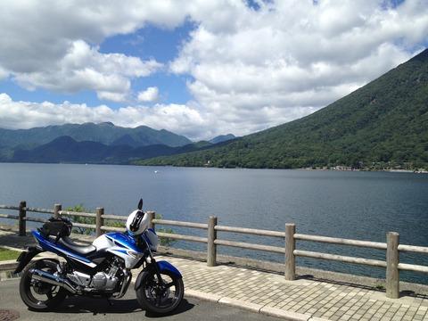 中禅寺湖とGSR