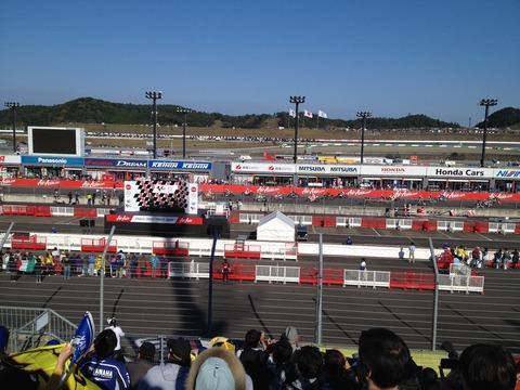 MotoGP決勝スタート前
