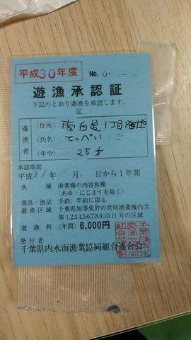 南白亀川入漁券購入までの顛末 : ☆いいたいほうだい☆